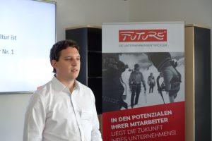 Bavairia Business Breakfast FUTURE Unternehmensentwickler David Schneider Trainer Berater Coach Leadership morgen